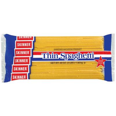 Skinner  Thin Spaghetti 48 Oz Bag