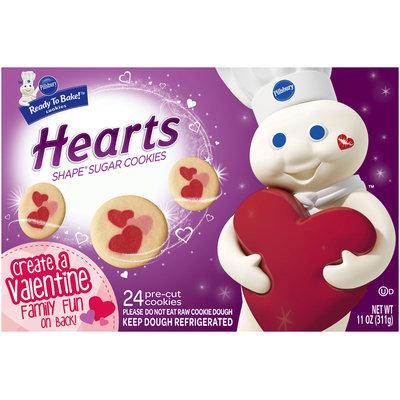 Pillsbury Ready to Bake!™ Hearts Shape® Sugar Cookies 24 ct. Box