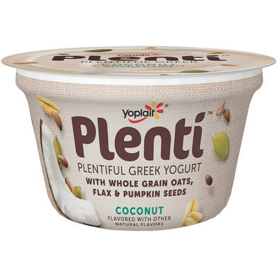 Yoplait® Plenti™ Greek Coconut Low Fat Yogurt