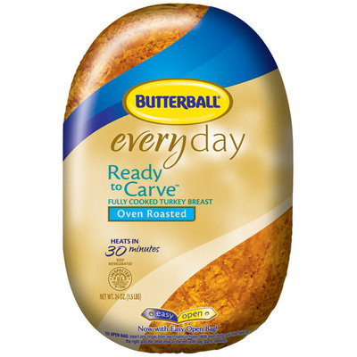 Butterball® Everyday Ready to Carve™ Fully Cooked Turkey Breast Oven Roasted 24 oz.