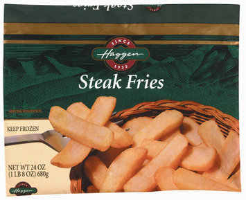 Haggen Steak Fries Potatoes 24 Oz Bag