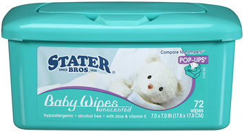 Stater Bros.® Baby Wipes Unscented 72 ct.