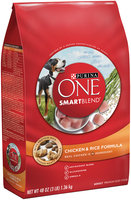 PURINA ONE® SmartBlend Chicken & Rice Formula Adult Premium Dog Food