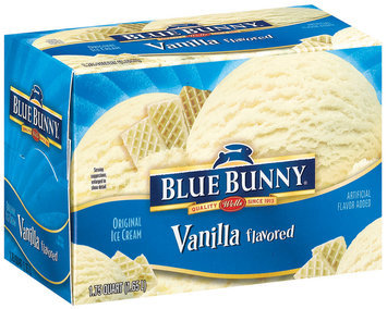 Blue Bunny Original Ice Cream Vanilla Flavored