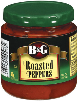 B&G Roasted Peppers 7 Oz Jar