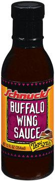 Schnucks Buffalo Wing Teriyaki Sauce 12 Fl Oz Glass Bottle