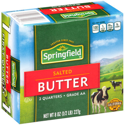 Springfield® Salted Butter 8 oz. Box
