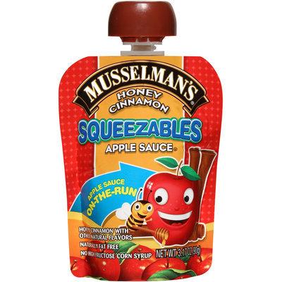 Musselman's® Squeezables Honey Cinnamon Apple Sauce 3.17 oz. Pack