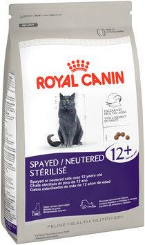 Royal Canin® Feline Health Nutrition Spayed/Neutered 12+ Dry Cat Food 7 lb. Bag
