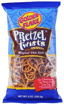 Golden Flake® Original Thin Style Pretzel Twists 9 oz. Bag