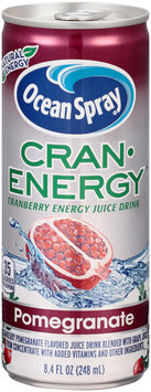 Ocean Spray® Cran•Energy™ Pomegranate Energy Juice Drink