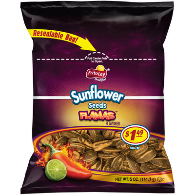 Frito Lay® Flamas™ Flavored Sunflower Seeds 5 oz. Bag