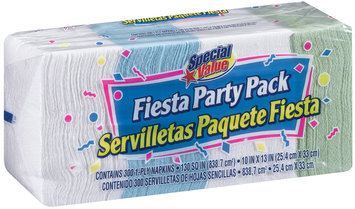 Special Value Special Value Fiesta Party Pack Napkins 1 Ct Bag
