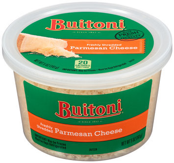BUITONI Freshly Shredded Parmesan Cheese 5 oz. Tub