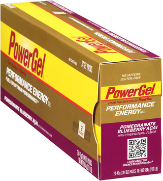 PowerBar PowerGel Performance Energy Pomegranate Blueberry Acai