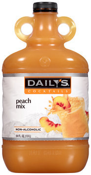 Daily's Cocktails Non-Alcoholic Peach Mix 64 fl. oz. Jug