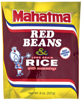 Mahatma® Red Beans & Long Grain Rice with Seasonings 8 oz.