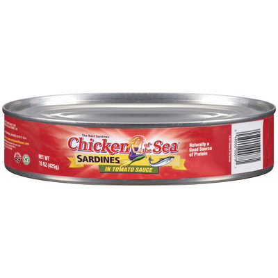 Chicken of the Sea® Sardines in Tomato Sauce 15 oz.