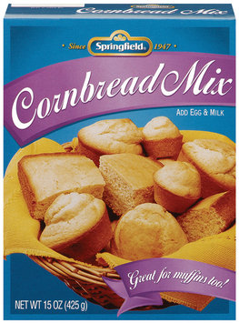 Springfield  Corn Bread Mix 15 Oz Box
