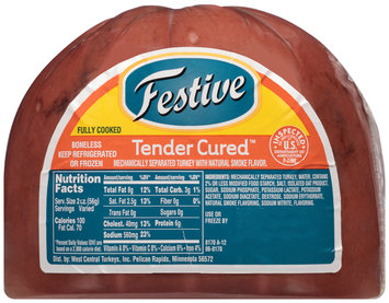 Festive Tender Cured™ Turkey