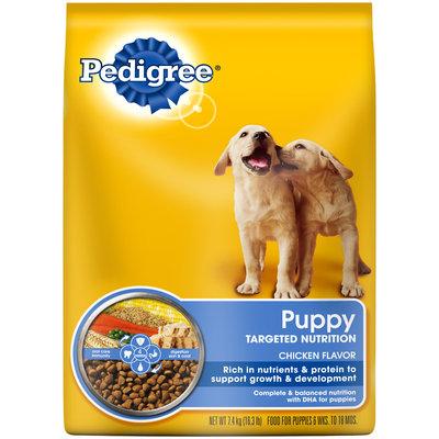Pedigree® Puppy Targeted Nutrition Dry Dog Food 16.3 lb. Bag