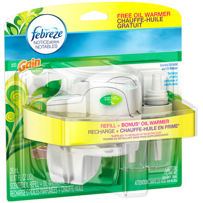 Noticeables Febreze NOTICEables™ Gain® Original with Warmer Air Freshener (1 Count, 0.87 fl oz)