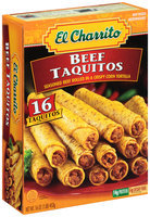 El Charrito™ Beef Taquitos Frozen Dinner 16 oz. Box