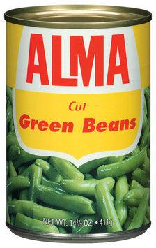 Alma Cut Green Beans 14.5 Oz Can