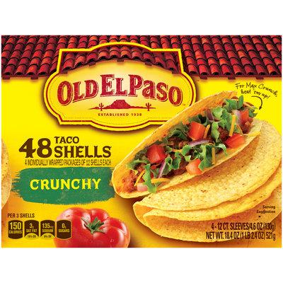 Old El Paso® Crunchy Taco Shells 48 ct Box