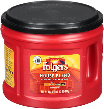 Folgers® House Blend Medium Ground Coffee 24.2 oz. Canister