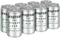 Seagram's Diet Ginger Ale 8-7.5 oz Cans