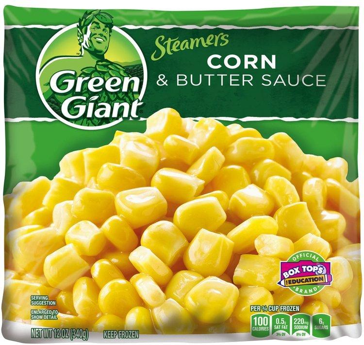 Green Giant® Steamers Corn & Butter Sauce 12 oz. Bag