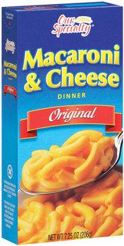 Our Specialty® Macaroni & Cheese Original Dinner 7.25 Oz Box