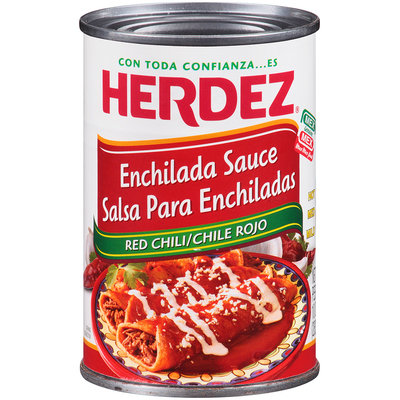 Herdez® Red Chili Enchilada Sauce 10 oz. Can