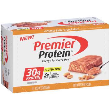 Premier Protein® Peanut Butter Crunch High Protein Bar 6-2.53 oz. Bars
