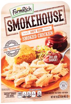 Farm Rich® Smokehouse™ Dry Rub Smoked Chicken 16 oz. Tray