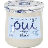 Oui™ Yoplait® Plain Flavored French Style Yogurt