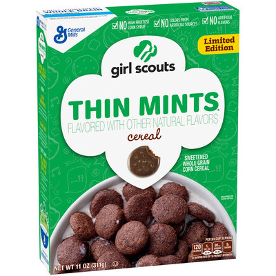 Girl Scouts® Limited Edition Thin Mints® Cereal