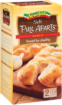 New York® Soft Pull Aparts™ Garlic Bread 12 oz. Box