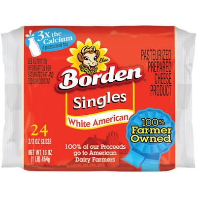 Borden® White American Singles  24 ct Pack