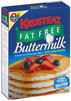 Krusteaz Buttermilk Complete Fat Free Pancake Mix 28 Oz Box