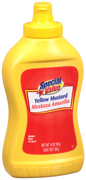 Special Value Yellow Mustard 14 oz. Bottle