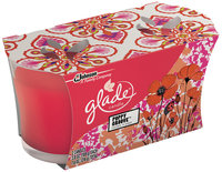 Glade® Poppy Groove™ Jar Candle 2-3.8 oz. Sleeve