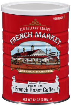 French Market® French Roast Ground Coffee 12 oz. Canister