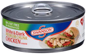 Campbell's Swanson® Premium Chunk White & Dark Chicken in Water