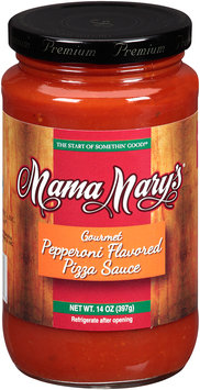 Mama Mary's® Gourmet Pepperoni Flavored Pizza Sauce 14 oz. Jar