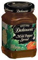 Dickinson's Mild Pepper Spread 9.5 Oz Glass Bottle