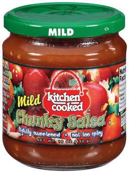 Kitchen Cooked Chunky Mild Salsa 16 Oz Jar