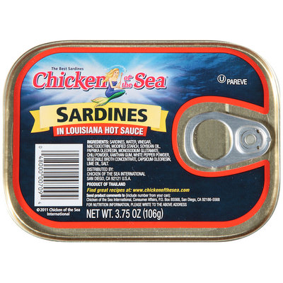 The Best Sardines Chicken of the Sea® Sardines In Louisiana Hot Sauce 3.75 oz Tin