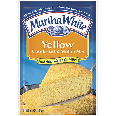 Martha White Yellow Cornbread & Muffin Mix 6.5 Oz Packet